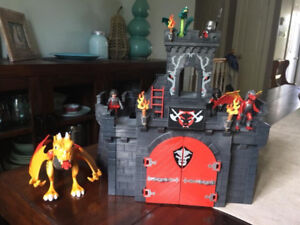 Playmobil castle and accessories