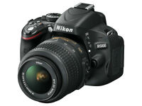 Nikon D5100 with 18-55 Lens or D3200 with 18-55