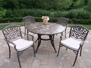 LOOKING for a patio table & chairs, or picnic table & bench