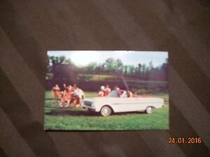 1963 Ford Falcon post cards