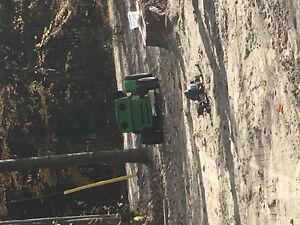 Racing tractor