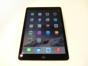 MINT!! Apple iPad Air 2 128GB, Wi-Fi - SPACE GREY + CASE