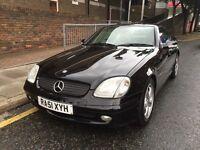 Mercedes Benz SLK Convertible Auto service history and all previous MOT