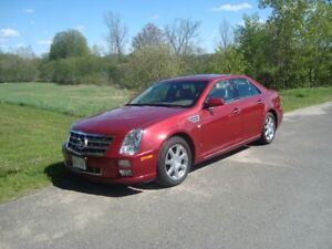 2008 CADILLAC STS AWD 4DR $5395 PLUS HST , 157,000KM,