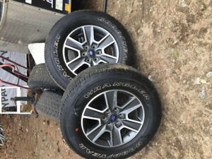 4  ford 18inch tires and rims