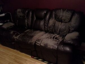 I have a reclining couch good for basement or camp