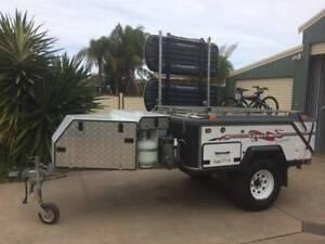 Campomatic hard floor off road camper trailer