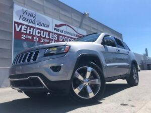 Jeep Grand Cherokee 4WD 4dr Limited+CUIR+TOIT+NAV+20 POUCE+2 MUF