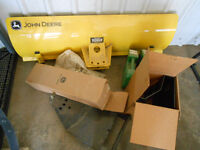 Brand New John Deere Blade with chains and Weights