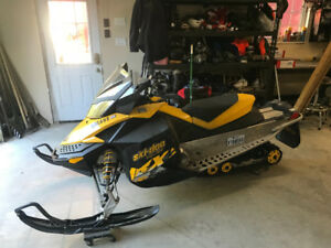 Mint condition snowmobile