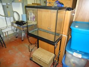 26 GALLON FISH TANK/STAND AND ALL ACCESSORIES!!