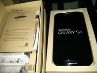 Samsung Galaxy S4, Open Box, Unlocked Cell Phone for Sale.