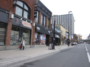 Fast Food restaurant space for lease in downtown Ottawa