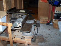 beaver bench saw & beaver jointer