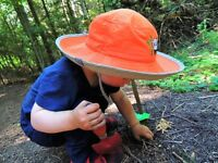 Outdoor Preschool childcare spots available