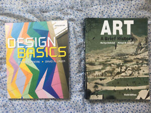 Art and Design Textbooks for sale (EXECELLENT CONDITION)
