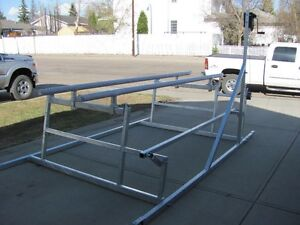 CUSTOM CANTILEVER PONTOON, BOAT AND WAKEBOARD BOAT LIFTS Prince George British Columbia image 2