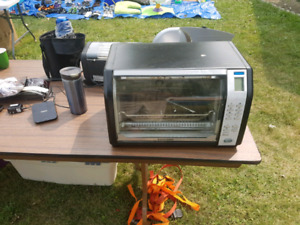 Roticcery toaster oven