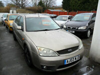 FORD MONDEO 2.0 TDCi AUTO 2003 ZETEC COMPLETE WITH M.O.T HPI CLEAR INC WARRANTY
