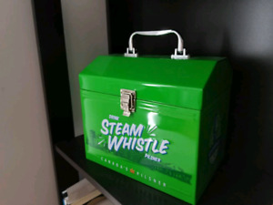 Steamwhistle collectible metal lunch box
