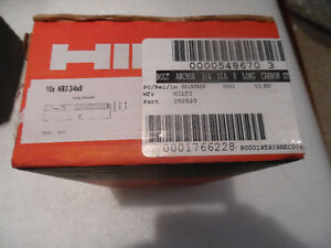 "Hilti Expansion Anchor KB3 3/4"" x 8"" LT Item #282520 Brand NEW"