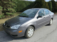 2007 Ford Focus Berline (Négociable)