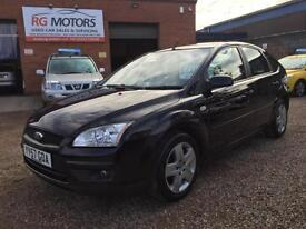 2007(57) Ford Focus 1.6 Style ( 100ps ) Black 5dr Hatch, **ANY PX WELCOME**