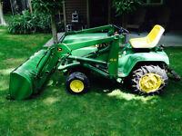 John Deere 322 Tractor