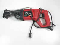 Red Handled Skil 9200 Reciprocating Saw