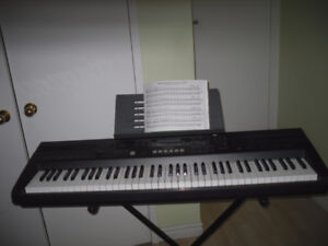 Casio Piano WK-110 With Stand, adapter (76 keys)