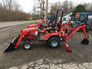 NEW YEAR SALE! - New Massey Ferguson 23hp TLB