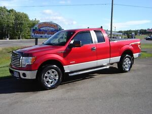 2012 FORD F-150***ECOBOOST***4X4***XTR***NEW TIRES***