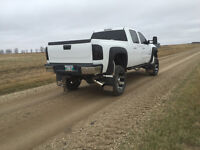 Lifted 2008 Duramax 2500HD will look at Trades.