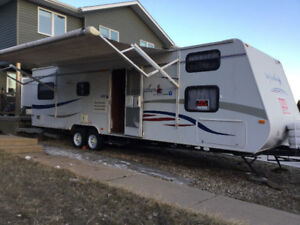 2008 Jayco Jay Feather trailer - double slideout