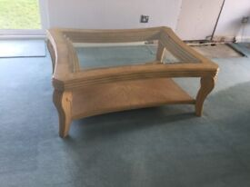 Large ornate coffee table