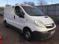 2012 Vauxhall Vivaro 2.0CDTi 2700 EcoFLEX SWB Refrigerated Van +VAT