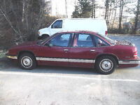 1993 BUICK REGAL 6 CYL, AUTO, LOADED ''PARTS OR FIXERUPPER''