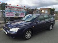 FORD MONDEO 2.0i AUTO ZETEC ESTATE + ONLY 2 OWNERS *** 12 MONTH MOT INCLUDED
