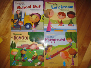 Books about school and manners Cornwall Ontario image 1
