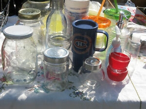 BOCAUX  ET BOUTEILLES/WATER BOTTLES AND GLASS JARS