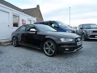 2012 (62) AUDI S4 BLACK EDITION QUATTRO S TRONIC 3.0 V6 TFSI ( 333 bhp )