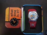 Paul Frank Faux Leather Collectible Analog watch
