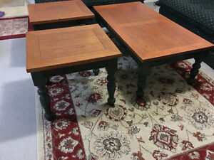 Coffee table + 2 end tables Kitchener / Waterloo Kitchener Area image 3