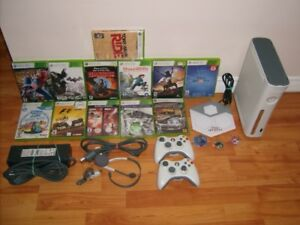 Xbox 360 120 GB White Bundle + 12 Games