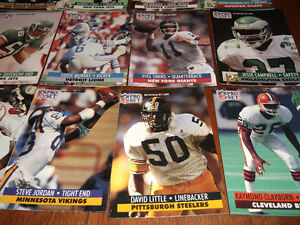 CFL CARDS -- CFL MAGAZINES & NFL CARDS Cornwall Ontario image 2