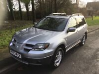 2003 Mitsubishi Outlander 2.4 SE Sport Auto-4X4-54,000-All weather car-exceptional value
