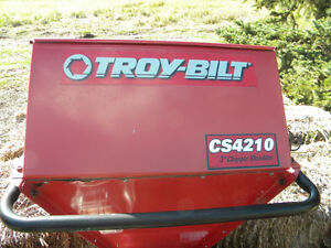 10 Hp Troy Built Wood Chipper