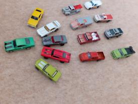 Hotwheels cars joblot 14 in total
