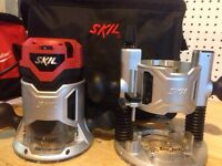 Skil 2 1/4 HP router combo