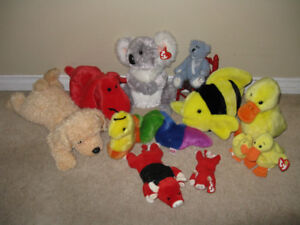 TY Beanie Plush Toys Lot of 13